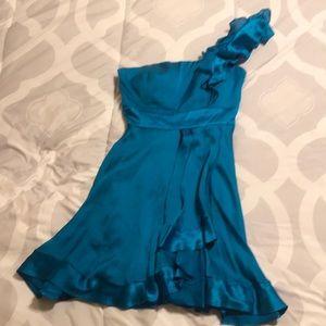 One strap bebe dress